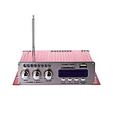 HY-502S - 2CH Output Power Bluetooth Amplifier - Red