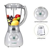 Electric Blender Juicer- Mixer - 1.5Litres - White