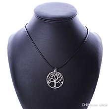Tree of life  Pendant black corded Necklace
