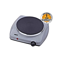 AEC-S10(S) - 1 Burner Solid Electric Hot Plate - Grey