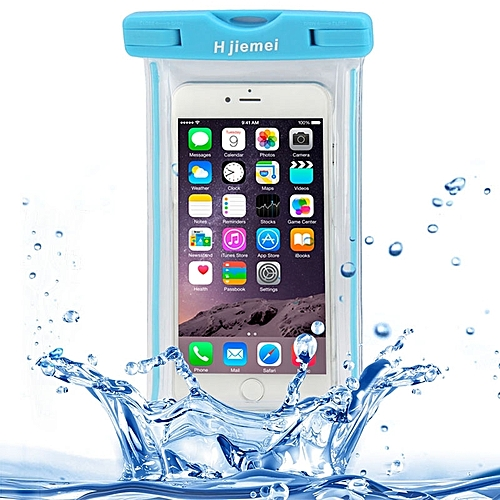 Hjiemei Waterproof Bag Protective Case with Lanyard for iPhone 6 Plus and 6S Plus and iPhone