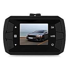 W2 Mini 720P HD 1.5 Inch Car Driving Recorder Camcorder Dash Cam G-sensor Loop Recording - BLACK