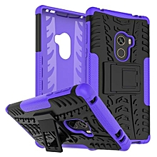 "For MI Mix Case, Hard PC+Soft TPU Shockproof Tough Dual Layer Cover Shell For 6.4"" Xiaomi Mix, Purple"