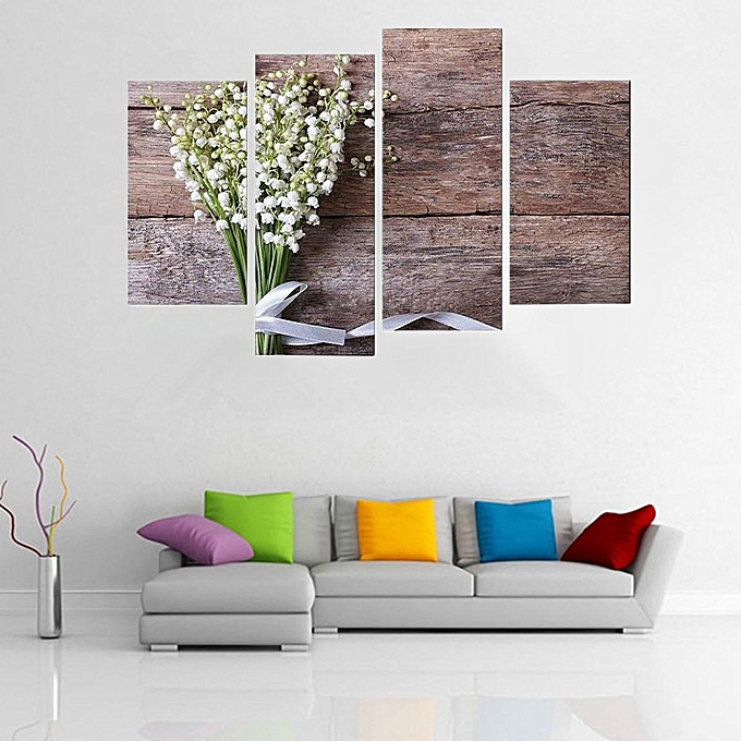 Buy Generic 4pcs HD ?Modern Print Painting Wall Canvas Framed Art ...