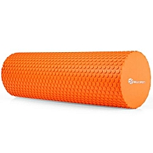 3.93 Inches Eva Yoga Foam Roller Body Massage Gym Fitness-ORANGE