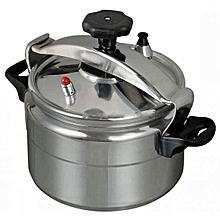 Pressure Cooker -NON EXPLOSIVE - 7 Litres - Silver