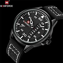 NAVIFORCE  Luxury Brand Army Military Quartz Watches Men Hour Clock Sports Leather Wristwatch relogio masculino