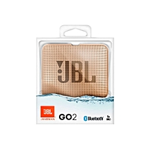 Go 2 Portable Bluetooth Waterproof Speaker-Champagne