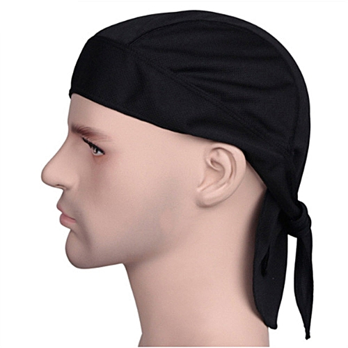 Outdoor Quick Dry Pure Cycling Cap Head Scarf Headscarf Headband  Men Hat Hood