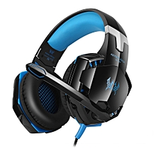 KOTION EACH GS600 Gaming Headsets Headphones with Mic for XBOX 360 / PS3 / PS4 / PC / Mobile Phone - BLUE