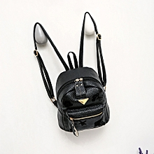 singedanWomen Girl School Bag Travel Small Backpack Satchel Shoulder Rucksack Backpack  -Black