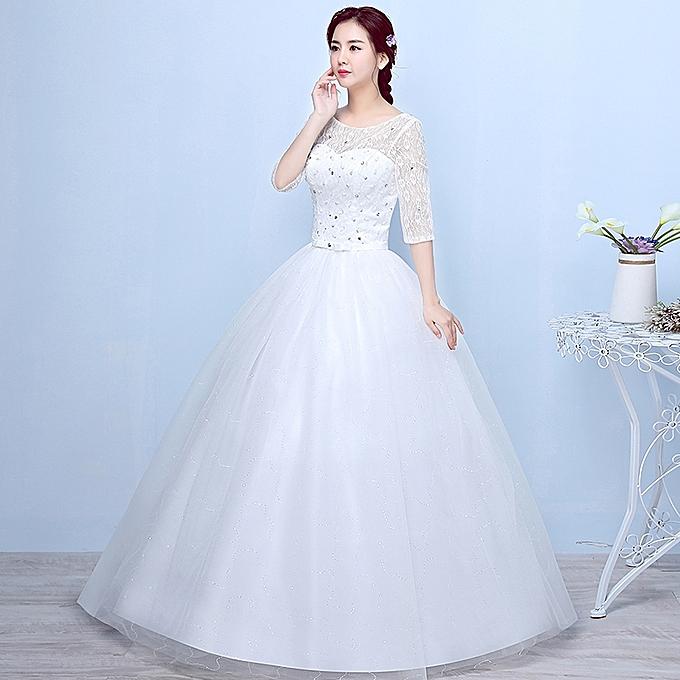 AFankara Luxury Embroidery Appliques Ball Gown Wedding