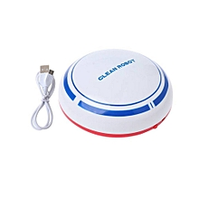 Automatic Rechargeable Cleaning Robot Smart Sweeping Robot Vacuum Cleaner white