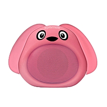 SNOOPY -Pink Wireless Kids Bluetooth V4.1 Speaker with Hands-free call function and Cute Dog Design