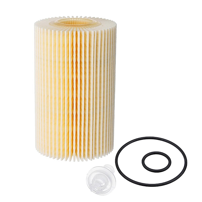 Engine Oil Filter with Gasket Kit For Toyota Land Cruiser Sequoia Tundra