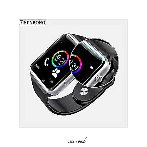 a548c54b402 GENERAL A1 Smartwatch Waterproof A1 Smart Watch Bluetooth GSM Sim Phone  Camera For Android iOS NEW With Passometer Camera SIM Card Bluet