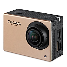 OKAA V2 Sports Action Camera DVR 4K 16 Million Pixels 2.0 inch Touch Screen-