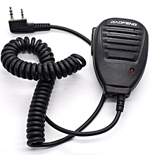 BAOFENG PTT Handsfree Microphone Walkie Talkie Push To Talk earpiece