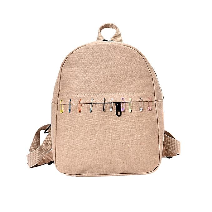 guoaivo Women Canvas Backpack School Backpack Bags Teenagers Casual Rucksack  Travel KH 09dcacdb01