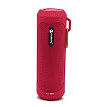 NR - 4016 Outdoor Wireless Bluetooth Stereo Speaker Portable Player-RED