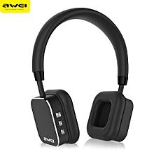 AWEI A900BL Bluetooth V4.1 Wireless Stereo Music Headset Headphones-BLACK