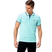 Green Skinny Male T-Shirt