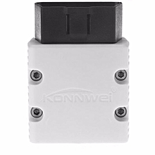 KW902 White Color Super MINI Bluetooth OBD/OBD2 For Android PC Tablet Smartphone LBQ