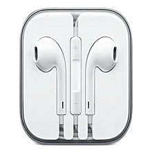 Earphones for iPhone - White