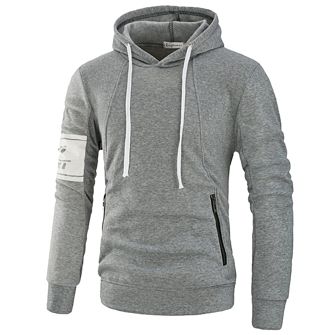 reputable site a7bf5 7e6d2 Long Sleeve Men's Slim Pullover Sweatshirt