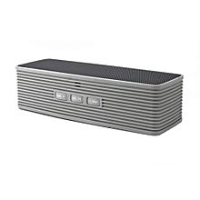 SDH-201 HiFi Bluetooth Speaker Portable Stereo Wireless altavoz Bluetooth Speakers Support FM Audio TF Handsfree Box For Phone PC(Grey)