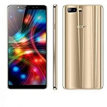 """Symbol S4 4G LTE - 6"""" - 4GB RAM - 64GB - 16MP+5MP Beauty Selfie - 1.7 Ghz Octa Core - Android 7 - Dual SIM - 5000 mAH Battery - Gold + Free Case"""