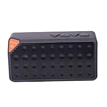 TG-X3 - Bluetooth V2.1 Mini Speaker With FM Radio, USB Input - Black