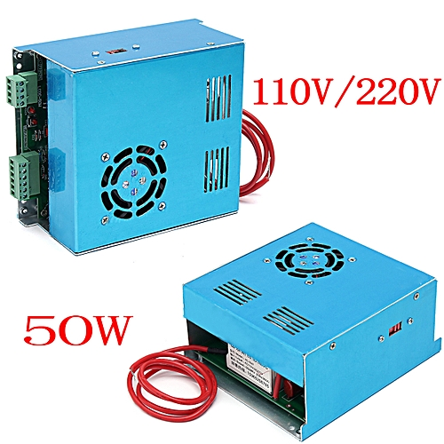 50W Laser Power Supply For CO2 Laser Engraving Cutting Engraver Machine  MYJG-50