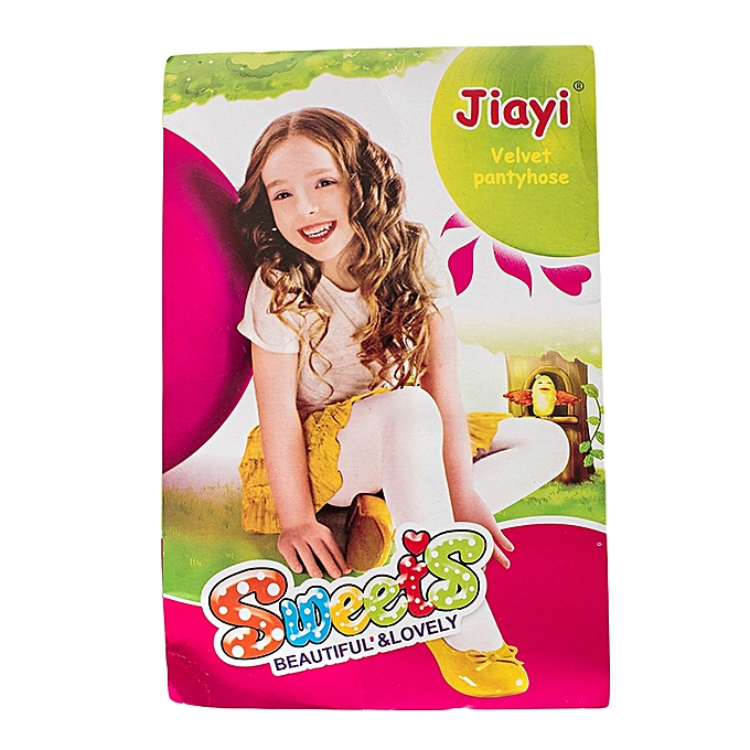39fa24659a16 Generic White Girls Elegant Stockings Tights Leggings Pantyhose ...