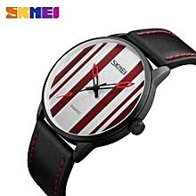 men women fashion quartz wristwatches lovers watch waterproof leather strap clocks new top brand sports watches 1602s