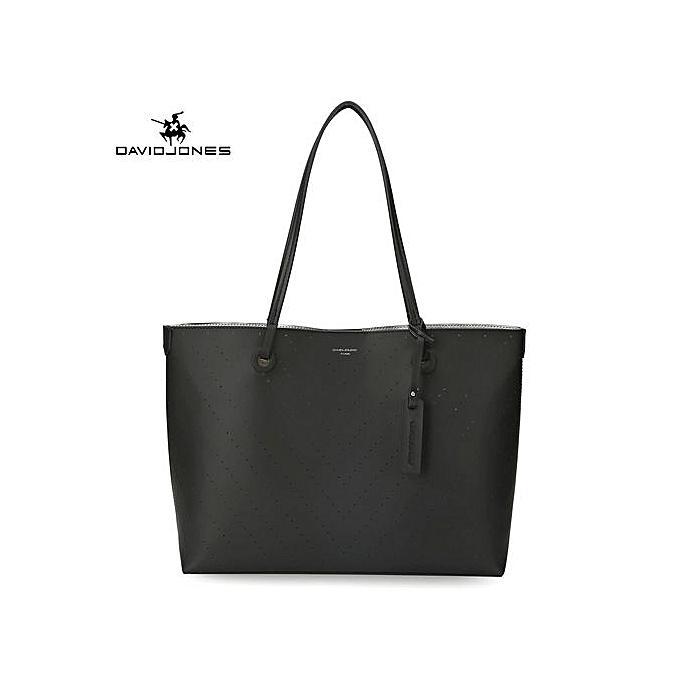 2b82a471cba Fashion 2 Pieces Women Handbag Set Large Capacity Tote Bags Female PU Totes- BLACK