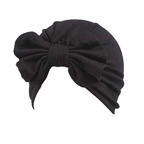 Eissely Children Baby Girls Boho Hat Beanie Scarf Turban Head Wrap Cap BK 77f85268158