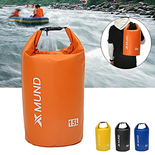 e12d477d442c Xmund XD-DY1 Outdoor15L Waterproof Bag Thicken Rafting Sports Kayaking  Swimming Dry Bag Travel Kit