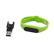 Waterproof IP67 OLED Screen Smart Bracelet Bluetooth Sleep Monitoring Bracelet green