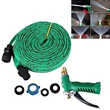 30M High Pressure Garden Car Hose Spray Washing Water Gun Sprayer Cleaner Nozzle(Green)