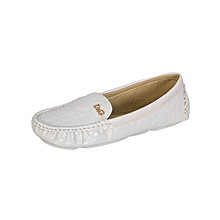 White Women's Moccasins