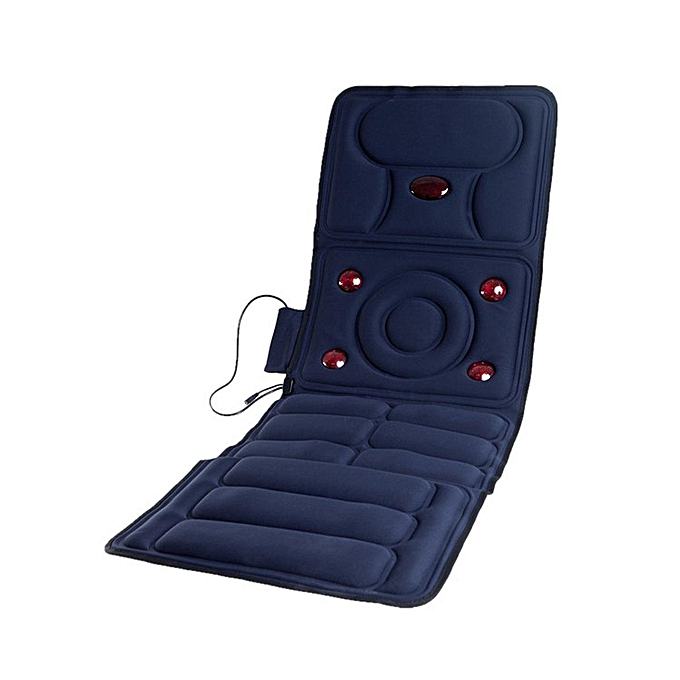 Back Massage Chair Car Seat Cushion Pad Body Lumbar Neck Therapy Home Massager