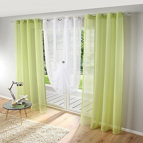 Universal Honana 1x2m Pure Colorful Tulle Curtain Panel Window