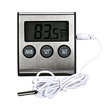 LCD Display Digital Fridge Refrigerator Freezer Thermometer With Magnet & Stand