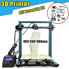CCTREE Creality CR-10 3D Printer DIY Kit 3 Large Print Sizes 1.75mm 0.4mm Nozzle