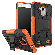 "For Blade [V6 Plus] Case, Hard PC+Soft TPU Shockproof Tough Dual Layer Cover Shell For 5.2"" ZTE V7 Lite/A2, Orange"