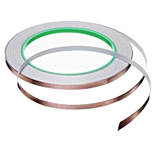 20 Meters Single Side Conductive Copper Foil Tape Strip Adhesive EMI Shielding Heat Resist Tape 5mm