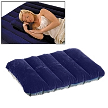 Outdoor Camping Air Pillow Camping Pillow Sleeping Bag Cushion For Leaning On Pillow(dark Blue)