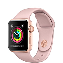 Watch Series 3 GPS 38mm Gold Aluminum Case With Pink Sand Sport Band