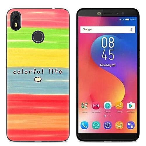 Infinix Hot S3(X573) (3PCS X Phone Case) Silicone Case, TPU Anti-knock  Phone Back Cover For Infinix Hot S3(X573) - Multi-color(Colorful